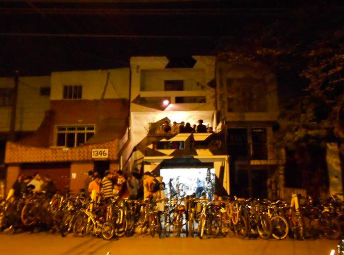 Las Magrelas à noite
