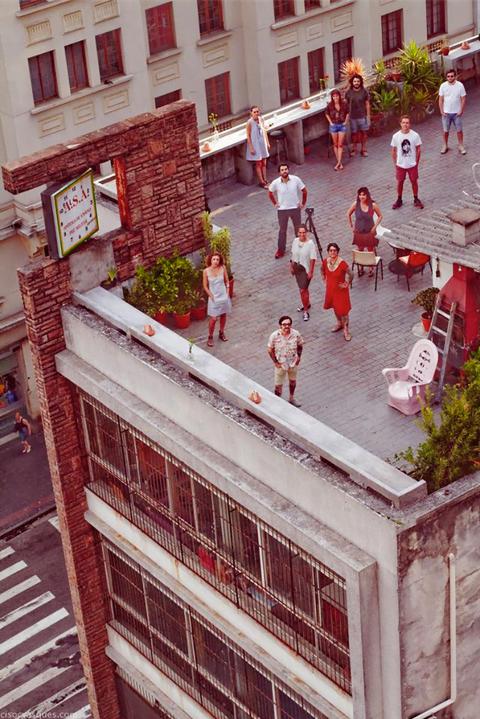 Liquen terraço