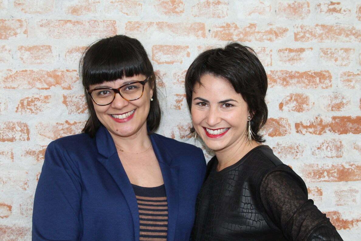 Carla Mayumi e Maria Juliana Giraldo, sócias da The Mob: um bureau de conferencistas transformadores.