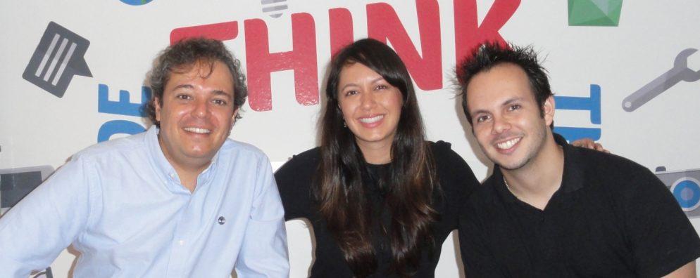 Rodrigo, Anderson e Marcelo contam como criaram um software de gestão que permite ao departamento pessoal controlar desde o pagamentos até o feedback dado aos colaboradores.