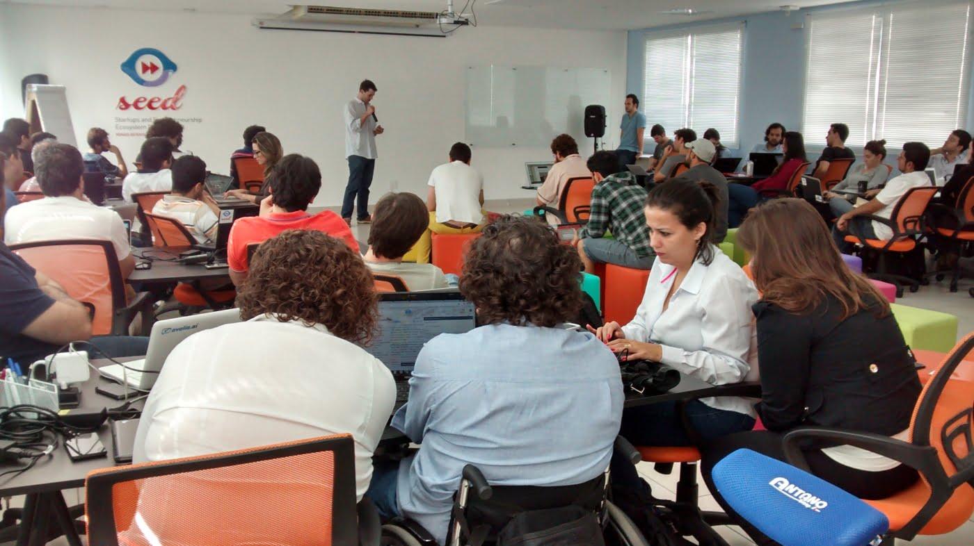 Oficina da Tropos Lab do Seed, o projeto que quer tornar Minas Gerais o maior polo de empreendedorismo tecnológico da América Latina