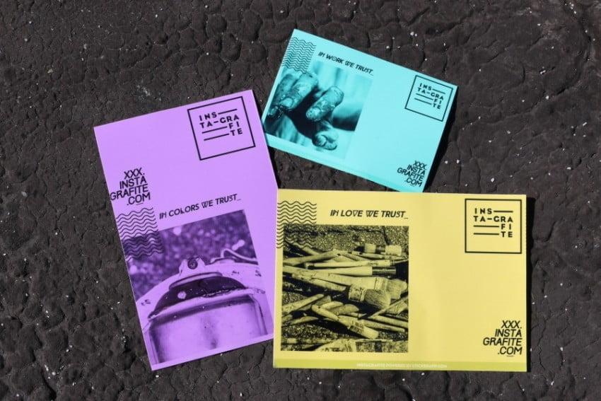 Série de adesivos Instagrafite by StickerApp, outra parceria de sucesso realizada este ano.