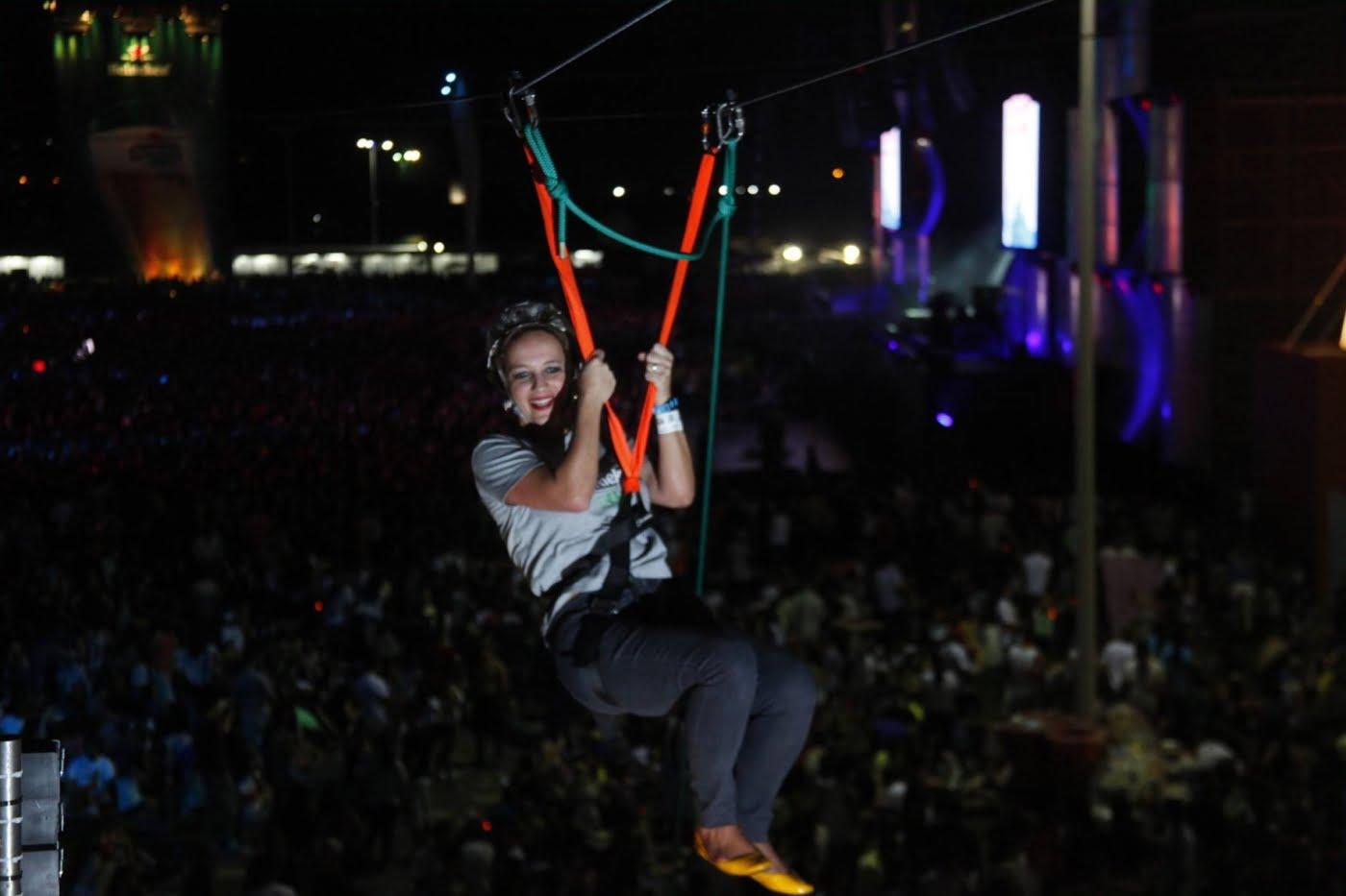 Não basta ser VP de Marketing, tem que participar: Dani Cachich, da Heineken, em ação no Rock in Rio, em 2013
