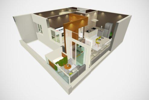Navegação 3D: inovação que transformou a 8E7, uma startup recém-nascida, em fornecedora da Tecnisa