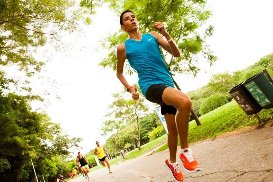 Jonathan Santos, corredor que é uma das apostas do Vida Corrida.