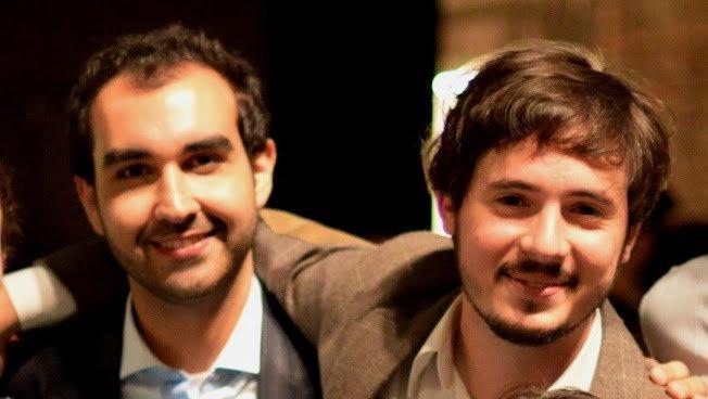 Dennys e Francisco, os dois jovens advogados que decidiram pesquisar Direito e Tecnologia.