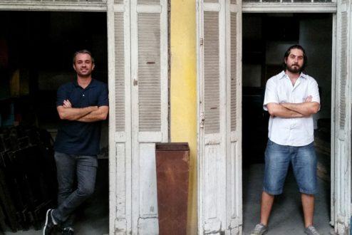 Felipe Lavignatti e Andre Deak, criadores do Mapas Afetivos