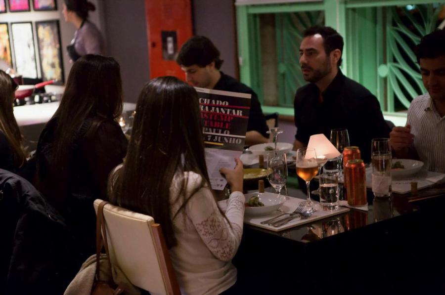A edição do Fechado para Jantar realizada na CasaCor teve patrocínio da Brastemp.