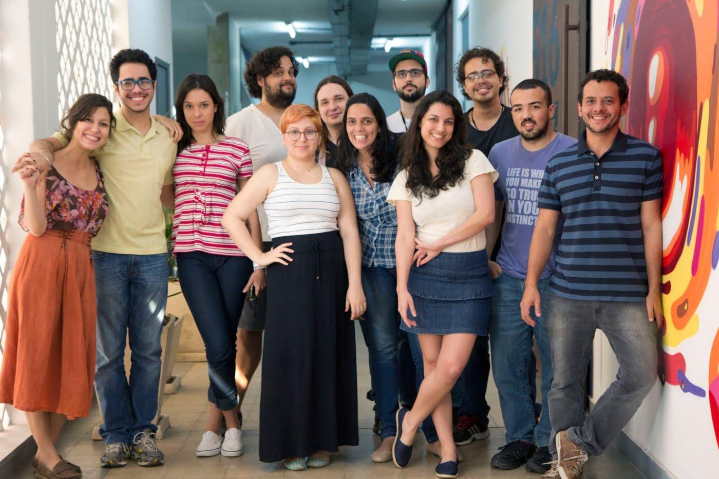 A equipe Mob é formada por criativos com formação multidisciplinar envolvendo sempre conteúdo e tecnologia.