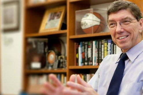 Clayton Christensen, professor de Harvard que cunhou o termo (foto: Christensen Institute).