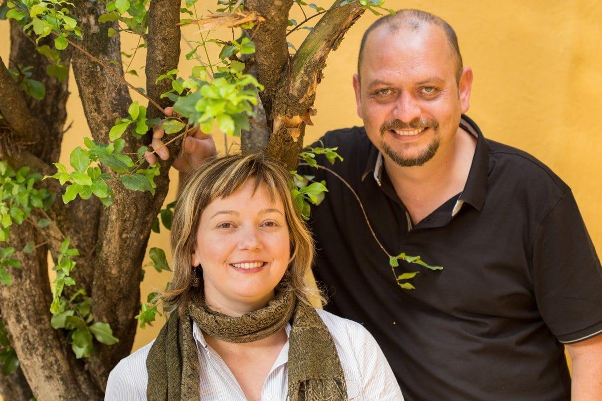 O casal Arnaldo Comin e Iris Jönck: paixão pelos sabores virou negócio de luxo (foto: Henrique Manreza).