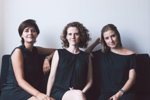 Juliana, Maíra e Nana: amigas, sócias complementares e fundadoras da consultoria Eva.