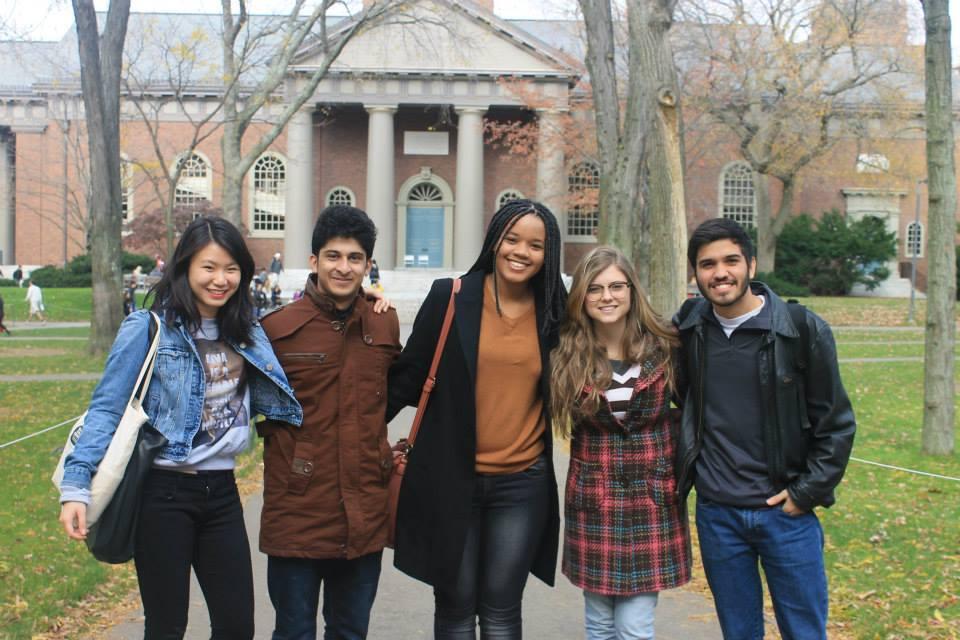 Georgia Sampaio em Harvard