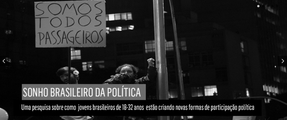 """Pesquisas como """"O Sonho Brasileiro da Política"""" estão entre os produtos que a Box 1824 faz pelo propósito."""