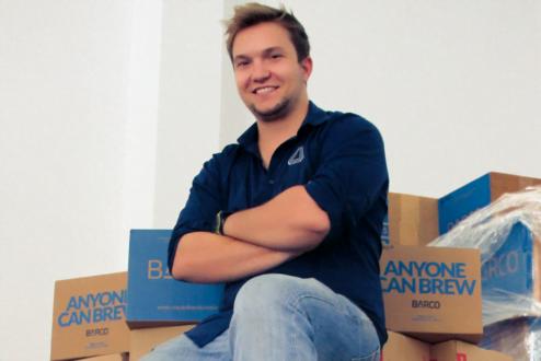 Bruno Schwinn, da Barco: um modelo inovador de vender cerveja artesanal.