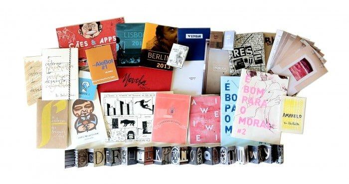 Coleção da Bebel Books até o momento: 25 publicações, de ilustração a caligrafia e foto, de serigrafia a xerox e risograf.