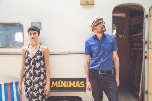 Maria e Ivan, os fundadores de Mínimas (foto: Giselle Galvão)