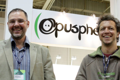 Alexandre e Marcel, os sócios fundadores da Opusphere.