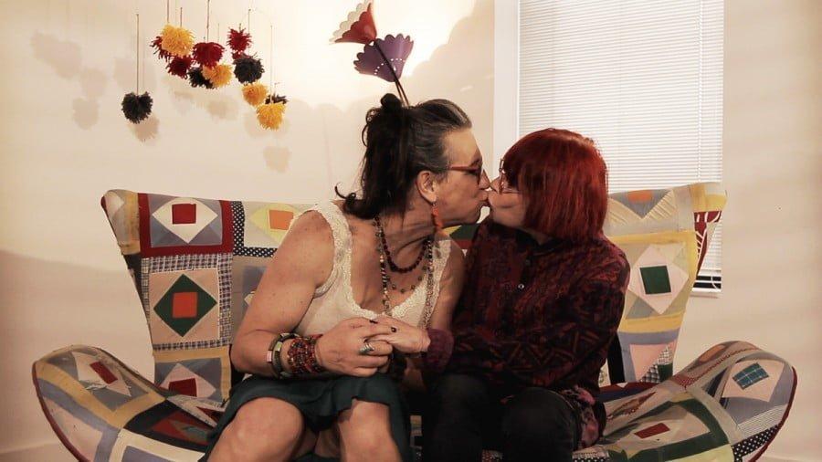 Laerte e Rita Lee no booktrailer da Mínimas para o lançamento de Storynhas.
