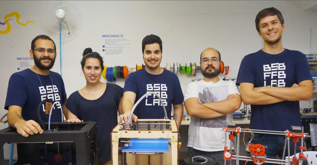Equipe do Fab lab Brasília