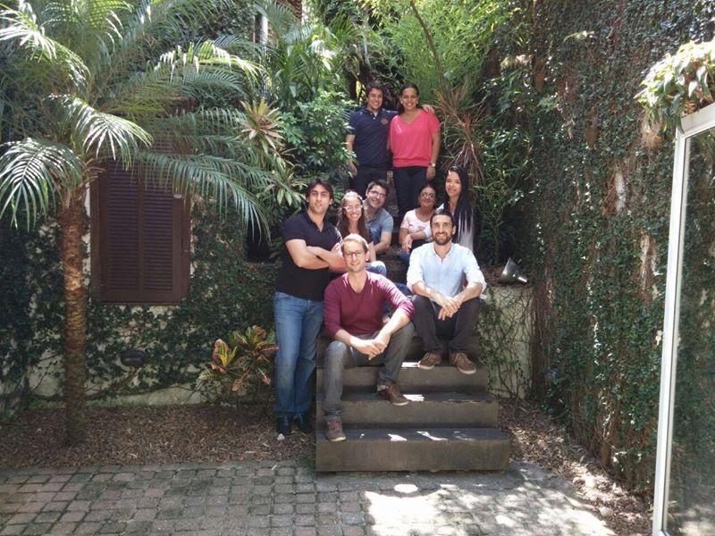 Equipe da Vox Capital na sede da empresa em São Paulo