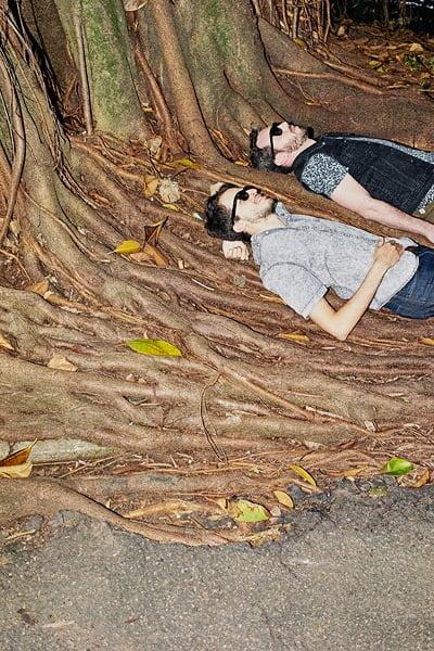 Augusto e Millos, da Selvagem (foto: Eudes de Santana)