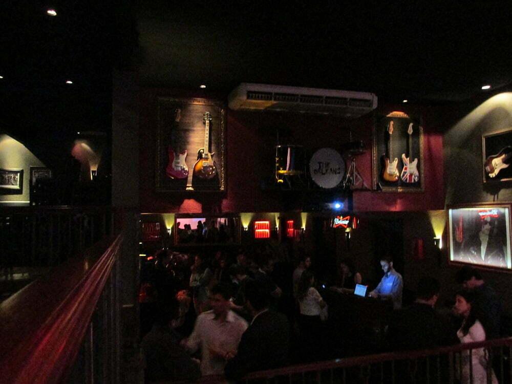 O encontro do Circuito Startup aconteceu em um bar de blues, na Vila Madalena