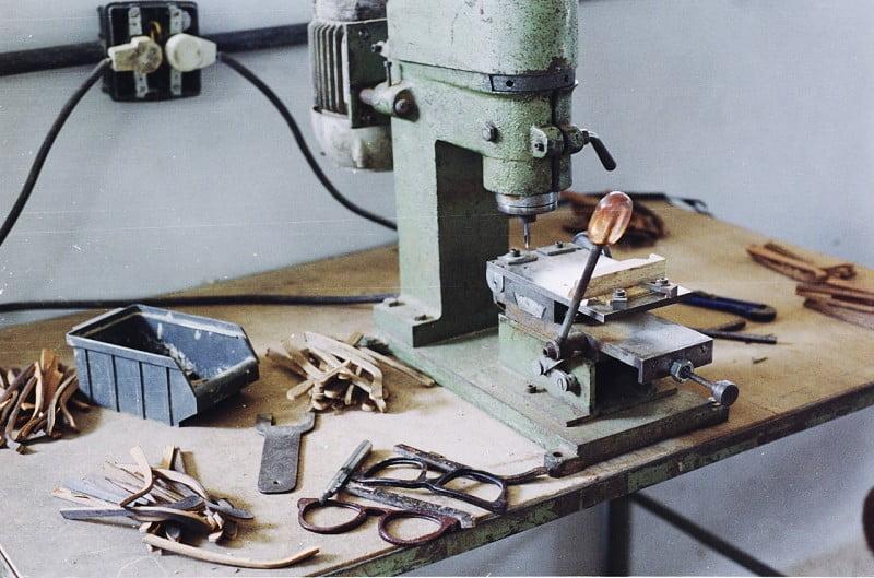 Na Zerezes, a linha de produção é totalmente artesanal.