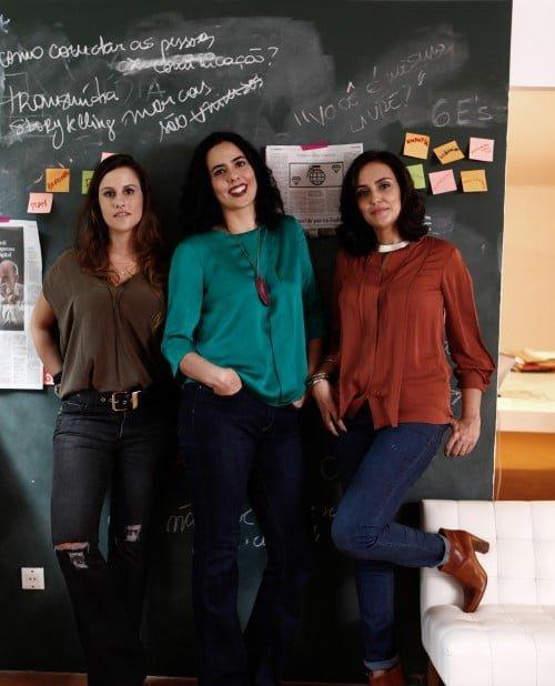 Camila Maia, Camila Holpert e Sandra Soares_credito Catherine Ferraz