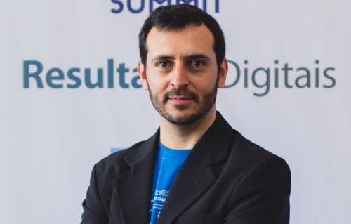 Eric Santos, CEO da Resultados Digitais no RDSummit.