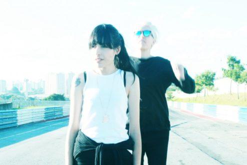 Danielle (à frente) e Adriana, da Move Institute (foto: Gabriela Vanzelli)