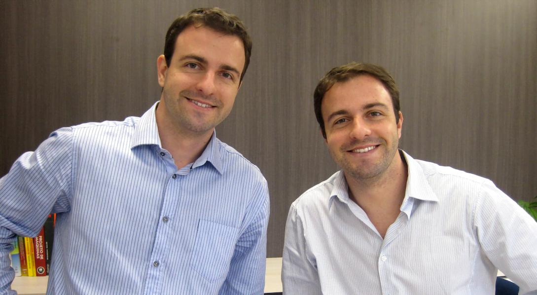 Gabriel e Rafael Bottós, fundadores da Welle Laser