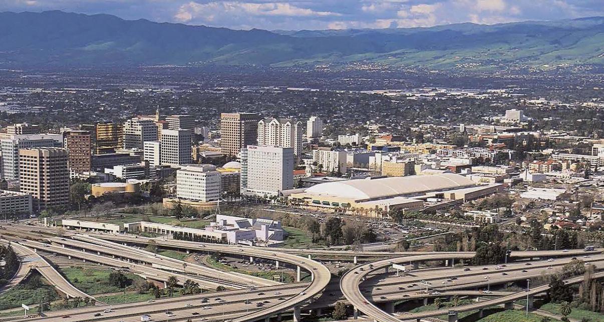 Vista parcial do Vale do Silício, nos EUA. (imagem: reprodução internet).