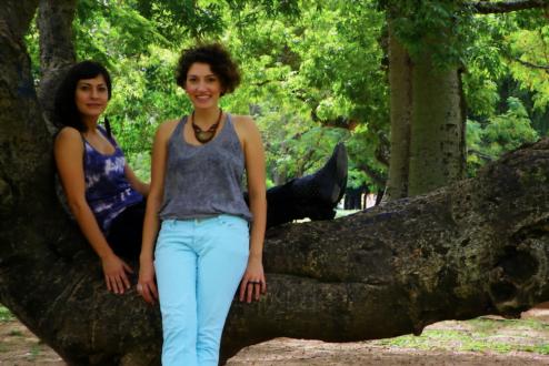 Adriana e Itiana, sócias da Vuelo.