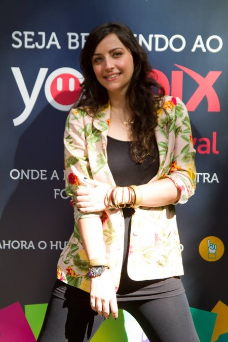 Bia Granja no youPIX na cidade de Porto Alegre, em 2012. No ano passado, o evento ficou gigantesco.