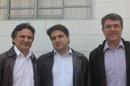 Os sócios Heraldo Negri, Diogo Carvalho e Alexandre De Sene Pinto