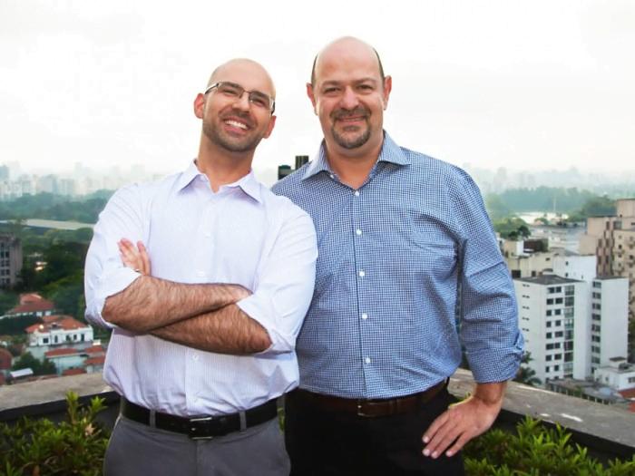 Pedro Waengertner e Mike Ajnsztajn, sócios da Aceleratech.