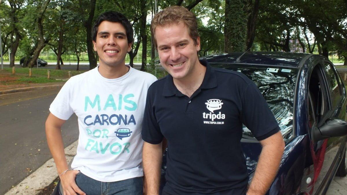Daniel Bedoya, country manager da Tripda no Brasil, e Pedro, um dos fundadores da startup.Daniel Bedoya, country manager da Tripda no Brasil, e Pedro, um dos fundadores da startup.