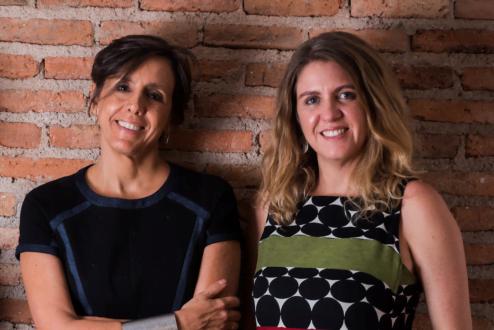 """Ana Couto e Clarissa Biolchini, fundadoras da escola-consultoria Laje, """"um lugar de encontro""""."""