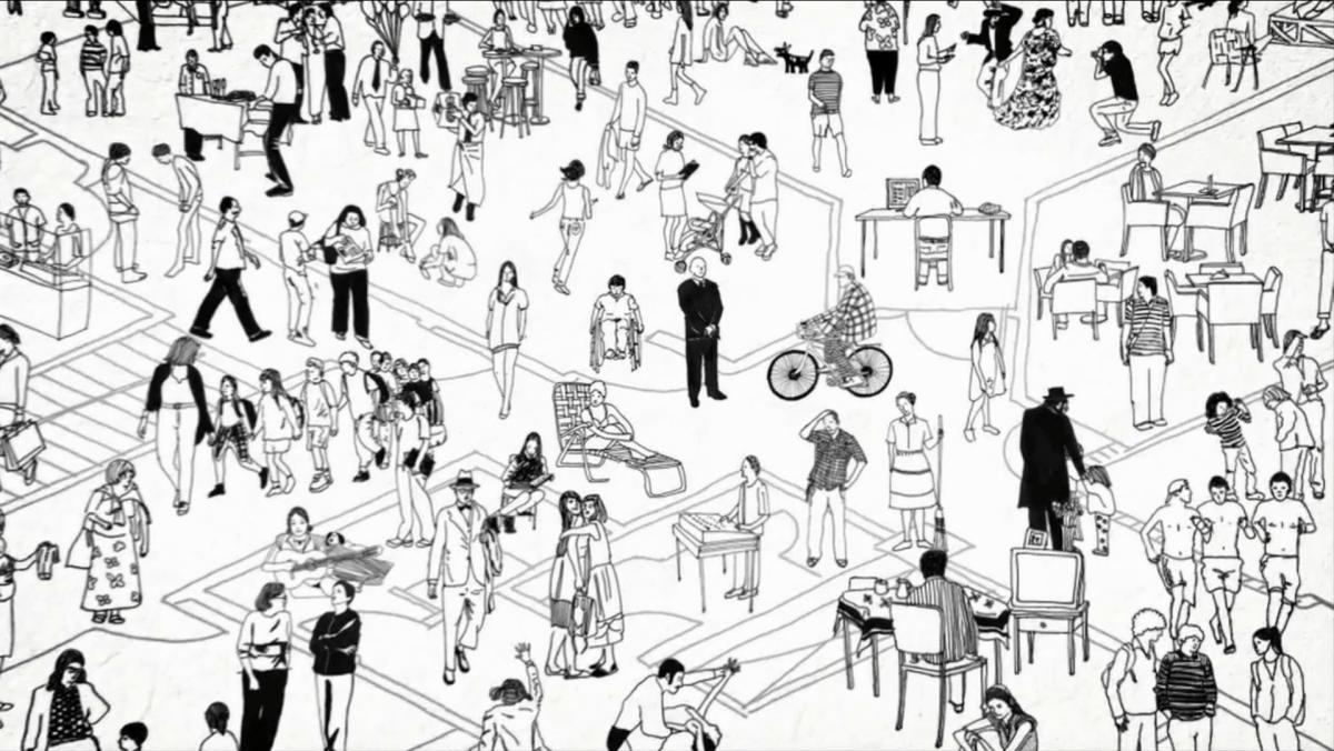 Tela de abertura do O cidade para pessoas, projeto de Natalia Garcia, mantido por crowdfunding, que investiga novas possibilidades para as cidades.
