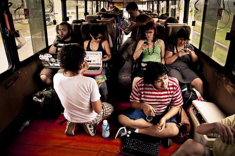 O ônibus hacker, viabilizado por crowdfunding, deu mobilidade às ações de hackerismo cívico que seus membros já praticavam.