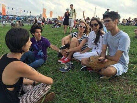 No Lollapalooza o ritual do Pulso se repete: ouvir quem frequenta os festivais para criar material de pesquisa e estudo sobre o fenômeno.
