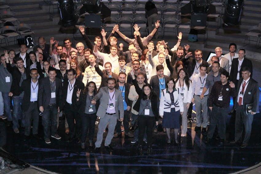 Demo Day (apresentação a investidores) da 2ª turma do Startup Brasil.