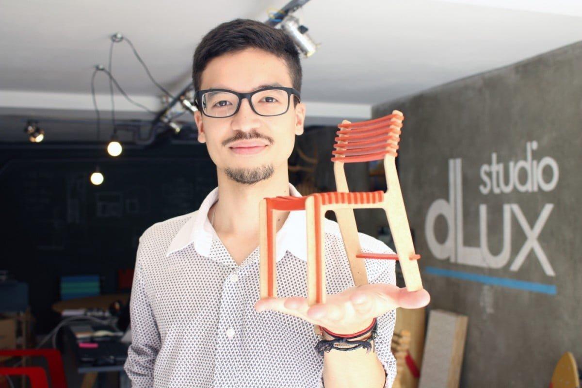 Denis Fuzzi, sócio-fundador do Studio dLux.