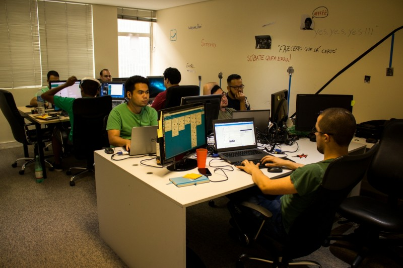 A startup tem 45 funcionários e planeja chegar a 100 no ano que vem.