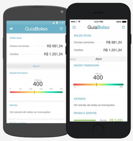 O GuiaBolso foi lançado em versão desktop e só decolou depois de sair em mobile, no Android e iOS.