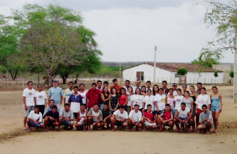Alunos do PRECE, no Ceará, uma iniciativa educacional que começou numa casa de farinha desativada e hoje atinge 500 estudantes em quatro cidades da região.