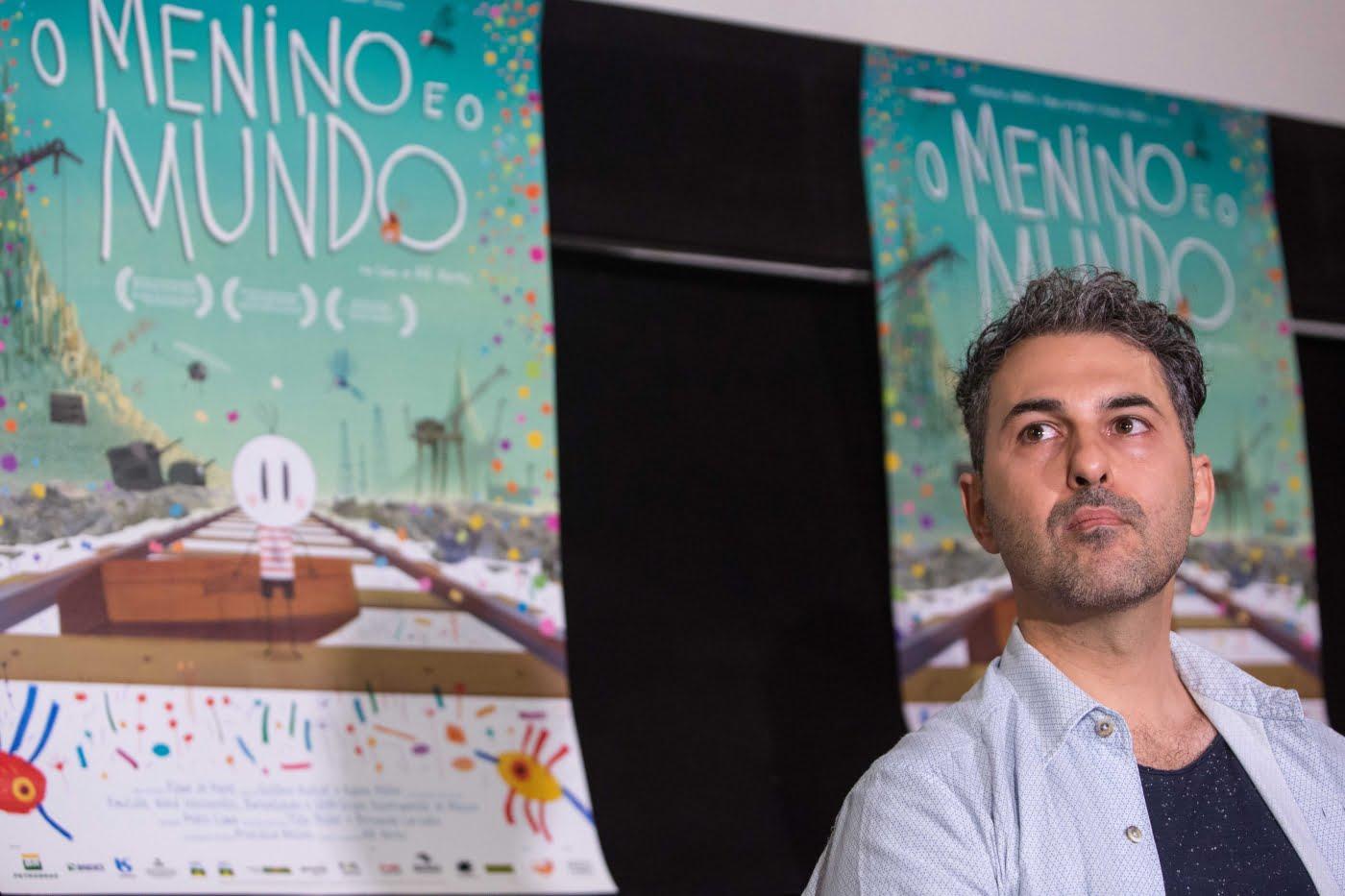"""Alê Abreu, criador do indicado ao Oscar """"O Menino e o Mundo"""" (foto: Aline Arruda)."""