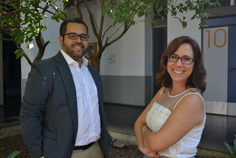 Billy e Ana, os parceiros de laboratório que se tornaram empreendedores na Forebrain.