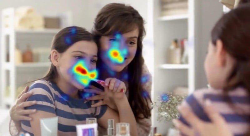O eye-tracker (equipamento que diz para onde as pessoas olham num anúncio) é uma das técnicas usadas pela Forebrain nos projetos ad hoc.